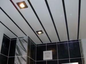 Как сделать пластиковый потолок на кухне своими руками?