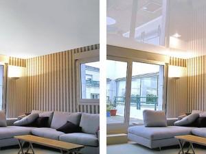 Какой натяжной потолок лучше матовый или глянцевый: советы специалистов