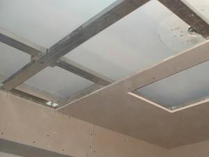 Обшивка потолка гипсокартоном самостоятельно