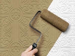 Чем можно покрасить потолочную плитку из пенопласта: выбираем правильно