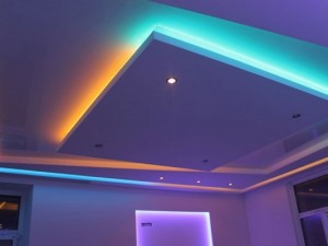 Потолок с подсветкой по периметру: варианты дизайна