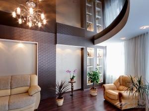 Как визуально увеличить высоту потолка: советы дизайнеров