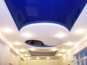 Как чистить натяжной потолок средствами из магазина