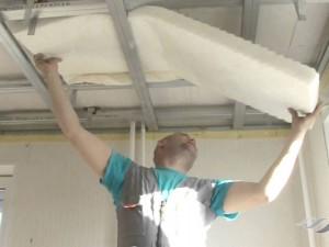 Звукоизоляция потолка в квартире под натяжной потолок: не допускаем ошибок