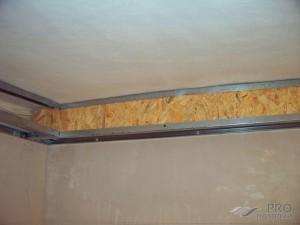 Крепление натяжного потолка к стене из гипсокартона: как надежно закрепить?