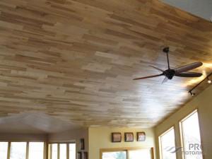 Как крепить ламинат на потолок: его плюсы и минусы