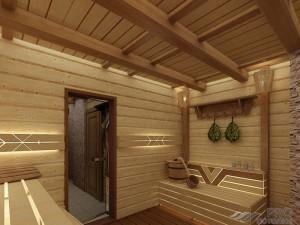 Потолок в бане — советы профессионалов