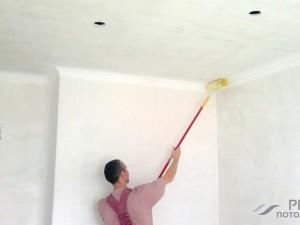 Покраска стен и потолков водоэмульсионной краской своими руками