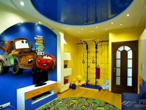 Лучшие варианты потолка в детскую комнату для мальчика